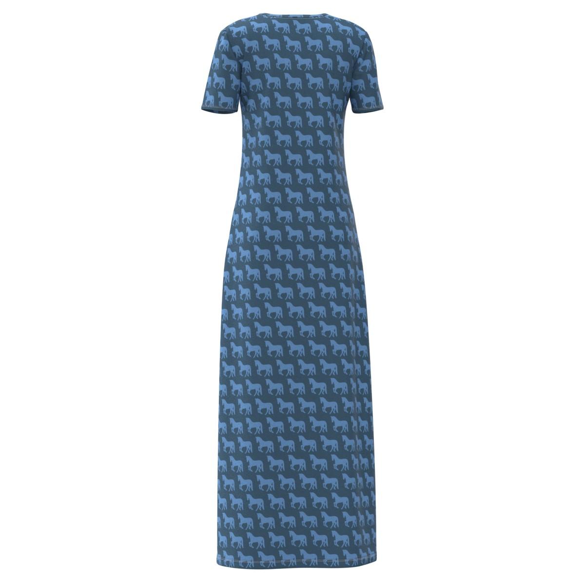 Horses Women Women Women Short Sleeve & Sleeveless Maxi Long Dress Size XS-5XL Plus 93a666
